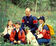 queensofias:  The Norwegian Royal Family in 1983