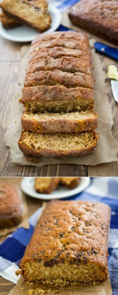 Amish Friendship Bread Recipe with a recipe for how to make the starter! This makes the most wonderful bread!