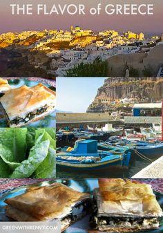 Greece #travel SPANAKOPITA #RECIPE