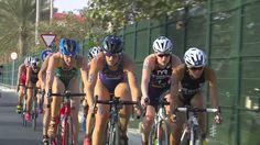2017 World Triathlon Abu Dhabi - Elite Women's Highlights