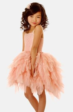 Free shipping and returns on Ooh! La, La! Couture Ohh! La, La! Couture 'Devin' Party Dress (Little Girls & Big Girls) at Nordstrom.com. She'll steal any scene in this picture-perfect party dress with a Swarovski crystal-embellished bodice and fluttery tiered skirt.