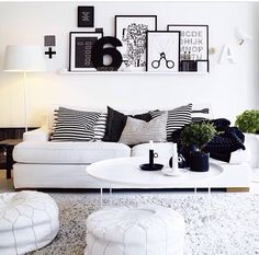 B&W sofa, relax, dreams