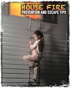Every child should know about: House fire prevention and escape tips: check your appliances, furnace, hot water tank, gas or oil heating, chimney regularly. Prevention tips.