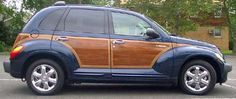 2002 Chrysler PT Cruiser Woodie and 2003 PT Cruiser GT turbo car ...