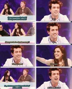 hahahahaha Grimmy talking about Harry on Celebrity juice