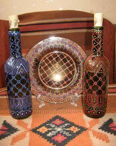Точечная роспись по стеклу и керамике - lelena-arts Jimdo-Page!