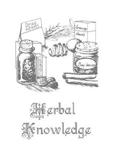 Herbal Knowledge title page