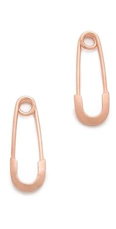 Genevieve Jones Classic Harvest Safety Pin Earrings | SHOPBOP