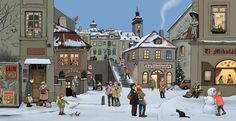 Advent calender 2013 by Lucie Lomová, via Behance