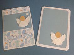 Cartões para madrinha e padrinho - tema batizado