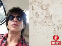 Shah Rukh Khan sketched his idea of France 20 years ago, now this sketch will earn Rs 2 lakh!