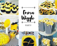 DIY Bowtiful Emma Wiggle Party Teen Girl Birthday, Baby 1st Birthday, 3rd Birthday Parties, Birthday Ideas, Wiggles Birthday, Wiggles Party, Wiggles Cake, 1st Birthdays