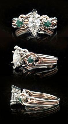 celtic puzzle wedding rings for her | diamond-engagement-rings-emer-puzzle-rings-71pt5pt-plrg.jpg