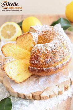 Foto ciambella supersoffice al limone senza bilancia