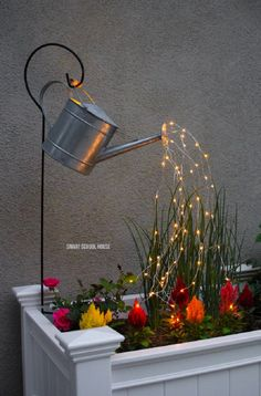 Gorgeous String Light Outdoor/Garden Ideas – Summer Daisy Cottage