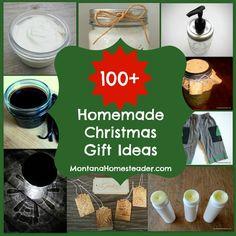 Over 100 homemade Christmas gift ideas | Montana Homesteader