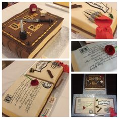 Once upon a Time cake design