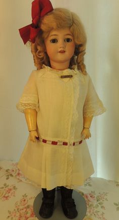 Santa Simon & Halbig #1248 Antique German Bisque Doll, 20 IN