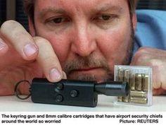 """Производитель - угадайте КТО :) Заряжается круглыми пулями и холостыми патронами для газового оружия. Мощность, судя по всему, не слишком впечатляет. Ближайшие родственники - газовые пистолеты-брелки от того же производителя. А общий предок - болгарские газовые пистолеты-брелки """"Оса"""", в свое время…"""