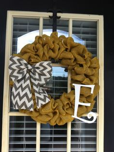 Perfect for fall wreath...love changing my wreaths on door! Have sooooo many already! ;))