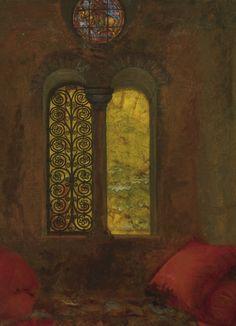 Detail From Fair Rosamund and Eleanor, 1920, Frank Cadogan Cowper