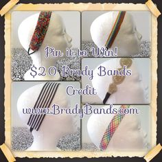 Brady Bands $20 credit giveaway!
