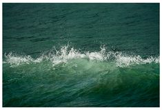 Water art print Sea wave photography large by RivuletPhotography