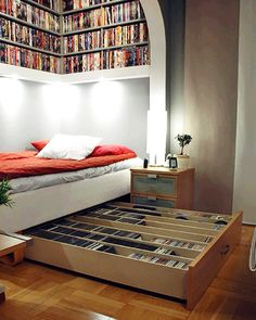 Overhead & Under Bed Space Saving Shelving & Storage