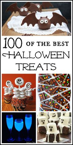 Over 100 of the best Halloween treat ideas!