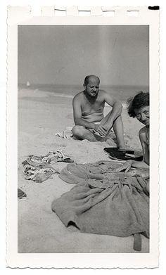 Jackson Pollock - on the beach