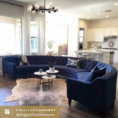 Fan Photo of the Week: envelopes her living room in diamond tufted luxury with Living Room Decor Colors, My Living Room, Home And Living, Living Room Furniture, Living Area, Country Furniture, Small Living, Modern Living, Furniture Sets