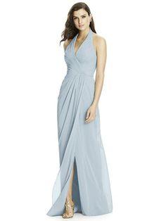 Dessy Bridesmaid style 2992 Sample: Mist, size 16 $$$