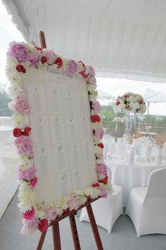 peonia wedding decorations, pink wedding Krakow