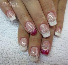120 awesome holiday nail designs for short nails – page 1 Cute Christmas Nails, Xmas Nails, Holiday Nails, Christmas Christmas, Holiday Makeup, Christmas Things, Christmas Fashion, Christmas Nail Art Designs, Winter Nail Designs