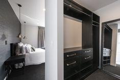 Master bedroom with walk in wardrobe Walk In Wardrobe, Bedroom Inspiration, Storage Ideas, Master Bedroom, Mirror, Furniture, Design, Home Decor, Built In Wardrobe
