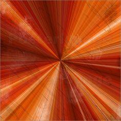 Grunge Hintergrund orange Poster von Christine Bässler