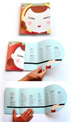 YanYan- chinese restaurant re- branding by Shany Hoobian, via Behance // Redhead Days inspiration. Brochure Indesign, Template Brochure, Design Brochure, Brochure Layout, Pamphlet Design, Leaflet Design, Booklet Design, Cv Inspiration, Brochure Inspiration