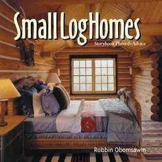 Small Log Home: Storybook Plans & Advise #LogCabinHomes