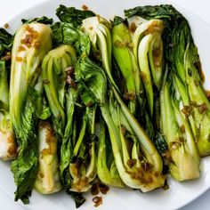 Garlicky Bok Choy Recipe
