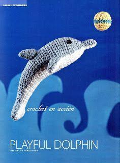 Crochet En Acción: El delfin - Free Dolphin Amigurumi Pattern