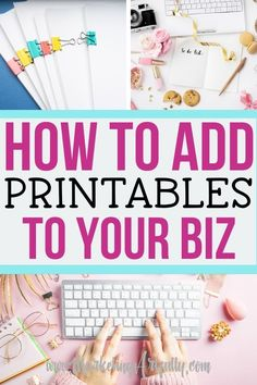 Since I started selling digital downloads on Etsy, my own website and Shopify I have made 100s of dollars a month! Here are all my best tips and ideas for how to create printables to sell online that will help add other products to add passive income to your business!