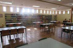 Sala de lectura de la Biblioteca de la Facultad de Derecho (Cáceres)