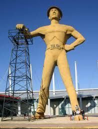 Tulsa Driller: this is one of those things I will never forget about Tulsa.
