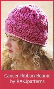 Adult Chemo Cap Patterns - Crochet for Cancer fb475057c21