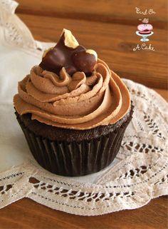 Chocolate Hazelnut Cupcakes met Nutella Buttercream