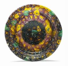 Ancient to Medieval (And Slightly Later) History - Roman Mosaic Glass Patella, c. Ancient Rome, Ancient History, Mosaic Glass, Glass Art, Roman Republic, Roman History, 1st Century, Ancient Artifacts, Antique Glass