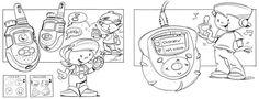 Sketchbook by Todd Herlitz, via Behance