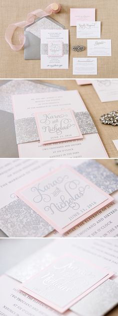 Looking to incorporate lace into your invitation? Kara from @engagingpapers is a perfect solution! This beautiful 2 layer wedding invitation features a metallic ink bellyband and 2 layer topper to showcare a couple's name or monogram. The envelope lace liner is the finishing touch! All inserts are one ply in one color and will fit neatly tucked behind the bellyband || invites for the bride to be
