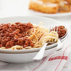 Pizza Dough With Yeast Spaghetti Bolognaise, Spaghetti And Meatballs, Bolognese, Meatball Recipes, Slow Cooker Recipes, Macaroni, Crockpot, Pizza, Recipes
