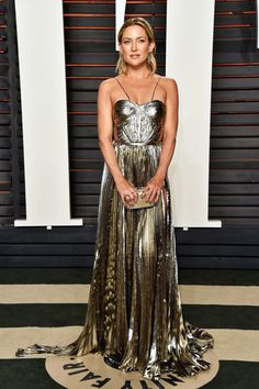 Kate Hudson in Maria Lucia Hohan at the Vanity Fair Oscars Party